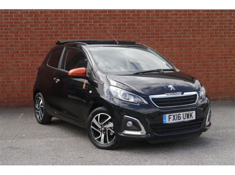 peugeot convertible 2016 used 2016 peugeot 108 3 door convertible 1 2 puretech
