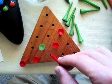 pattern for triangle peg game board game beautiful triangle peg board game