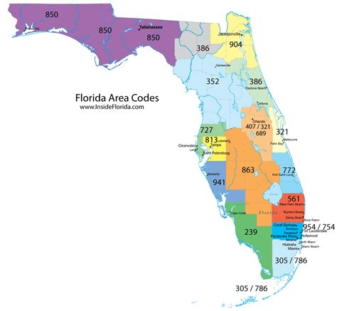 White Pages Florida Lookup Florida Area Code Map My