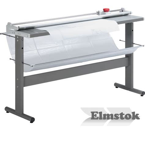 ideal 0135 wide format rotary paper trimmer guillotine elmstok