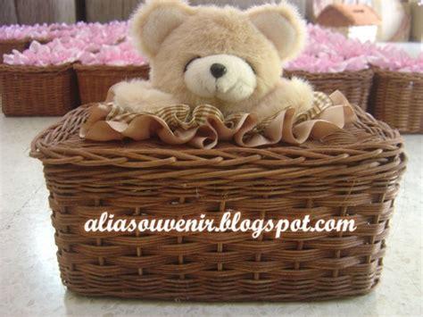 Kotak Tisu Bentuk Beruang Kutub kotak tisu rotan boneka beruang bulu besar