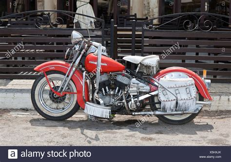 Harley Davidson Motorrad Alt by Harley Davidson Motorcycle Stockfotos Harley Davidson