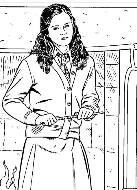 Harry Potter And The Goblet Of Fire Coloring Pages