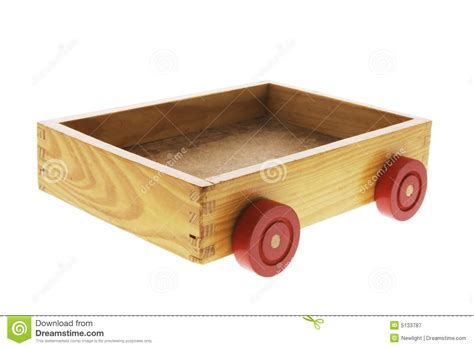 Wheels Box wooden box with wheels stock image image of container