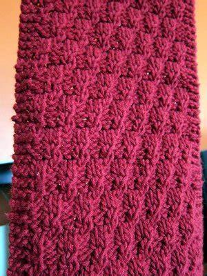 texture pattern scarf easy textured scarf allfreeknitting com