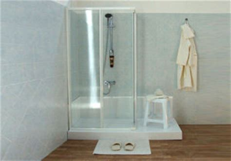 trasformazione doccia in vasca trasformare vasca in doccia pauletto therm