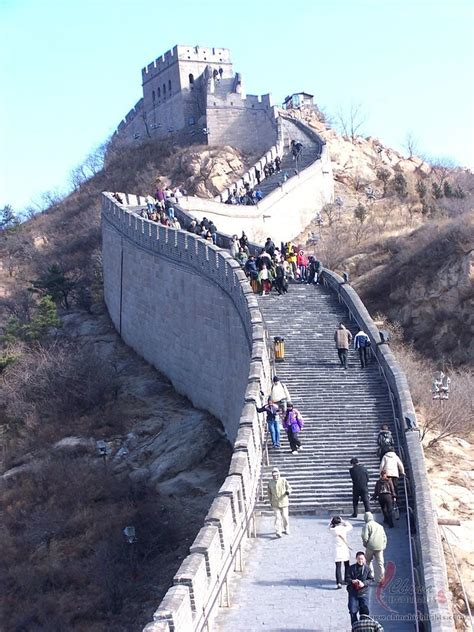 great wall badaling section pictures of the badaling great wall beijing picture