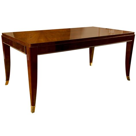 art deco dining room table art deco dining table with extensions by maurice rinck at