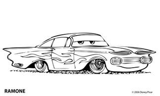 coloring pages of cars cars coloring pages coloringpages1001