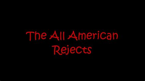 the all american rejects swing swing lyrics the all american rejects dirty little secret lyrics