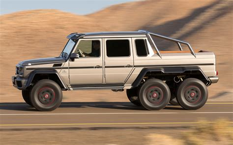 mercedes jeep 6 wheels mansory modifies mercedes benz g63 amg 6x6 automobile