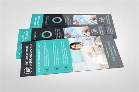 rack card template for pages business rack card template on behance