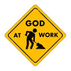 Sermon on experiencing god at work in our lives table thoughts