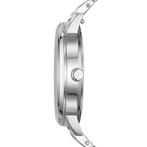 Fossil Vintage Muse Es3994 Navysilver vintage muse stainless steel fossil