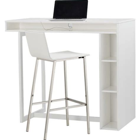 an affordable standing desk alternative cb2 white