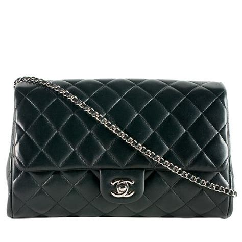 Chanel Beckham Designer And Chanel Quilted Clutch by Chanel Quilted Lambskin Classic Clutch With Chain Shoulder Bag