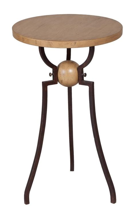 metal and wood accent table timeless classics wood and metal accent table
