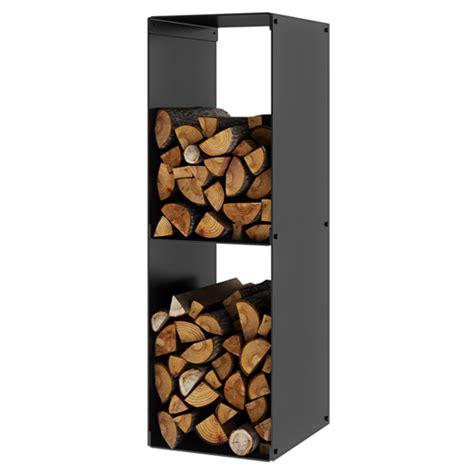 Fireplace Racks by Rais Firewood Rack 2 Black Log Store Fireplace Products