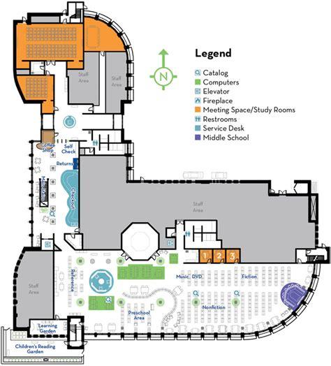 school library floor plan library layout elmhurst public library