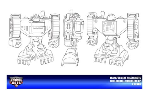 coloring page rescue bots rescue bots boulder clean up by thegreatjery on deviantart