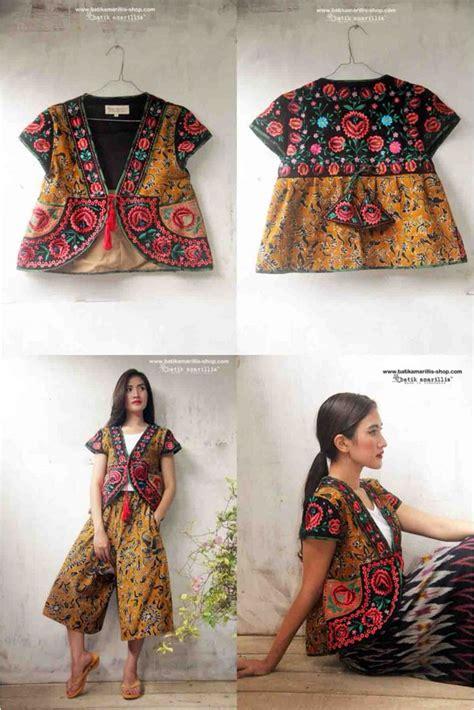 Sogan Dress Batik By Arken Batik batik amarillis s garden vest