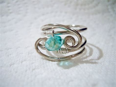 Handmade Wire Wrapped Rings - 17 best images about jewelry rings wire wrap on