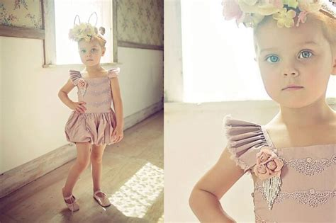 Dress Baby Tile Two Flower Pink 180 best images about mini fashion i on