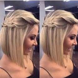 half up hairstyle for short hair gallery
