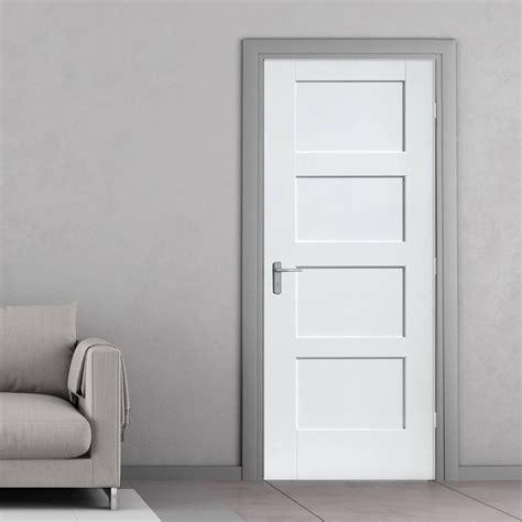 bespoke shaker p white primed door