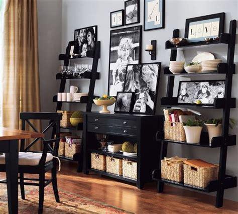 Pottery Barn Book Shelf by 25 Best Ideas About Ladder Shelf Decor On