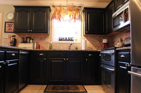 painted black kitchen cabinets information about rate my space questions for hgtv com