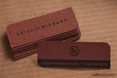Slim Business Card Size