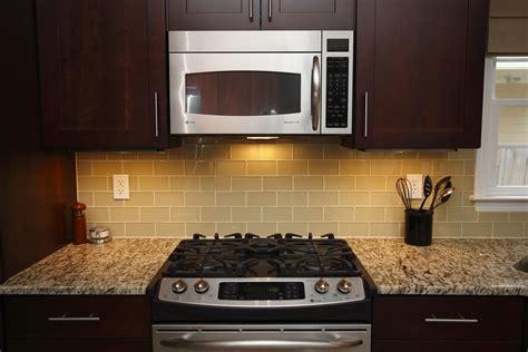 3x6 Subway Tile Kitchen Backsplash by Lush Almond 3x6 Light Beige Glass Subway Tile Kitchen