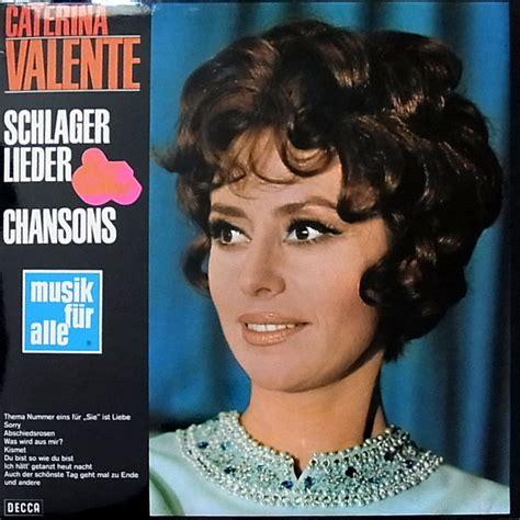 caterina valente lieder caterina valente schlagerparade records lps vinyl and