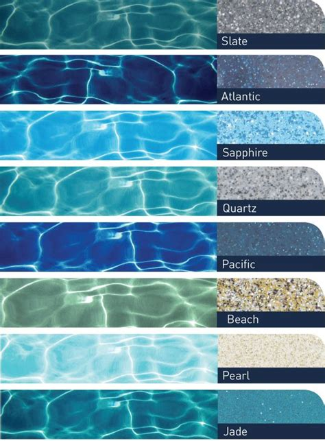 pool colors bi luminite swimming pool pool backyard pool designs