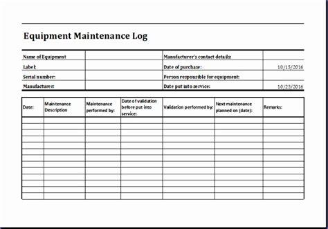 7 Building Maintenance Checklist Exceltemplates Exceltemplates Equipment Maintenance Schedule Template Excel