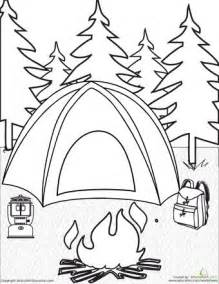 73 images camping coloring pages coloring summer coloring pages