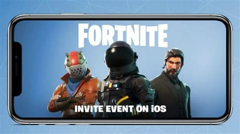 will fortnite be available on iphone 6 fortnite mobile release date when will fortnite be on