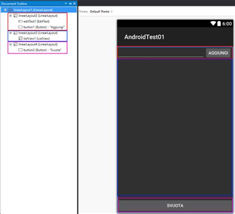xamarin android layout percentage sqlite interaction on android with visual studio and