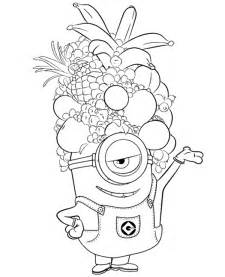 minion coloring minions colouring page 24 to print or for free