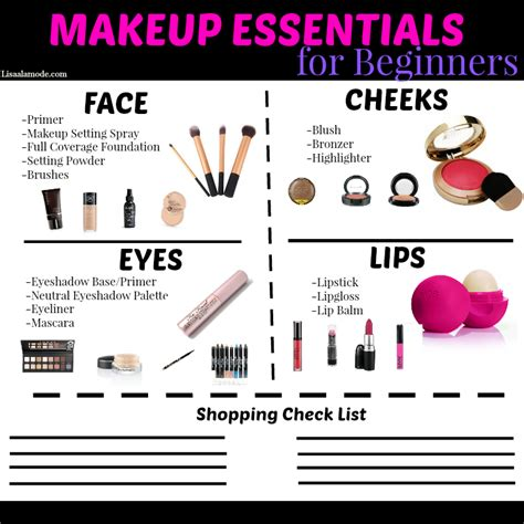 For Beginners makeup essentials for beginners guide a la mode