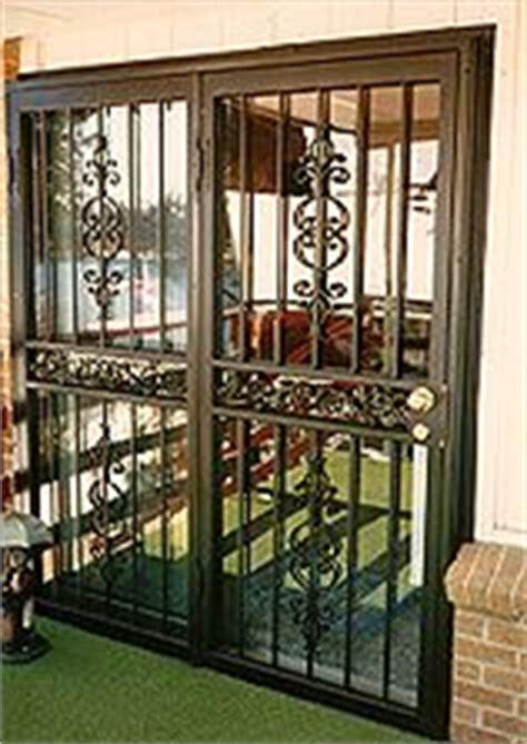 Wrought Iron Security Door Outside Pinterest Wrought Iron Security Doors For Sliding Glass Doors