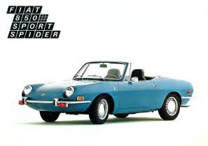 Fiat Sport 850 Fiat 850 Spider La Dolce Vita On A Budget Or The