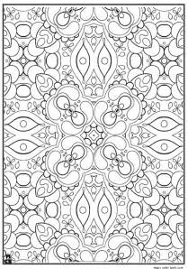 abstract adults patterns coloring pages magic color book