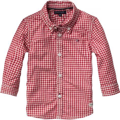 Gingham Shirt boys gingham shirt elfin