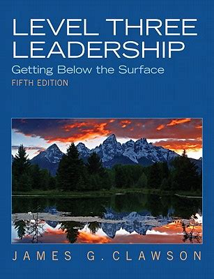 below the surface a code of silence novel books 9780132556415 level three leadership getting below the