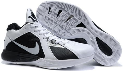 kd shoes black and white