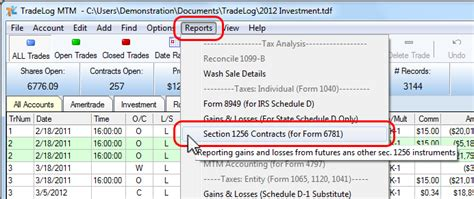 section 1256 contract section 1256 contracts reporting gains losses tradelog