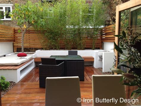 urban backyard design small urban garden design before after iron butterfly design