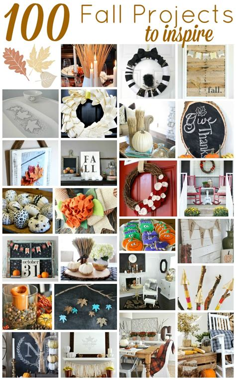 100 fall diy project ideas crafts decor more setting